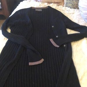 Michael star long sweater carnigan